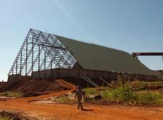 Flabel / Usina Alto Alegre - Armazém Graneleiro para Açúcar
